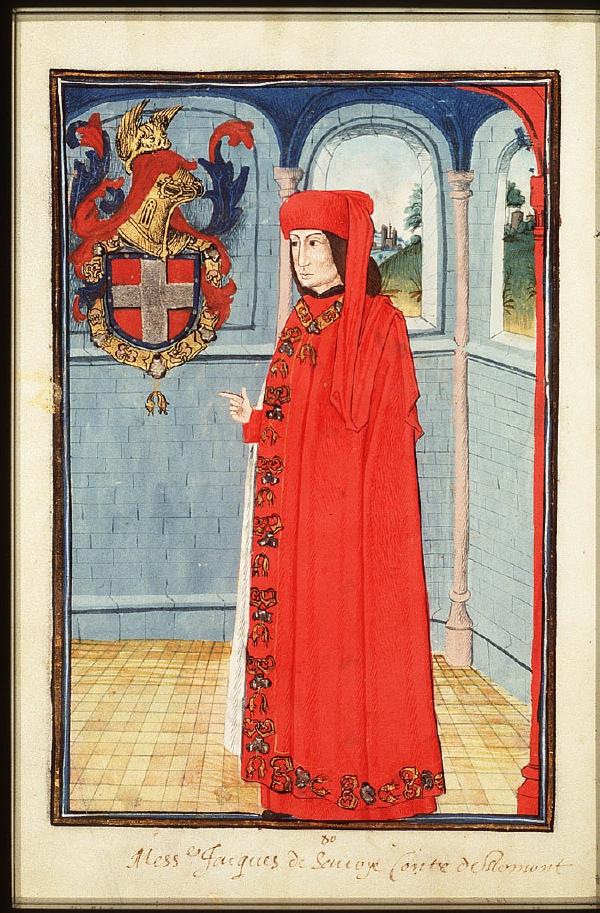 Jacques de Savoie, Comte de Romont