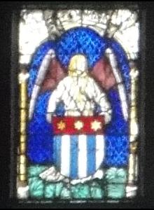 Vitrail de la cathédrale de Berne.