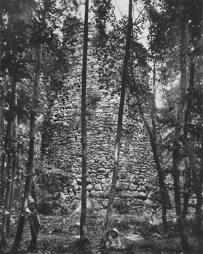Illustration de l'article. La tour ronde. Photo Alfred Lorson, Fribourg